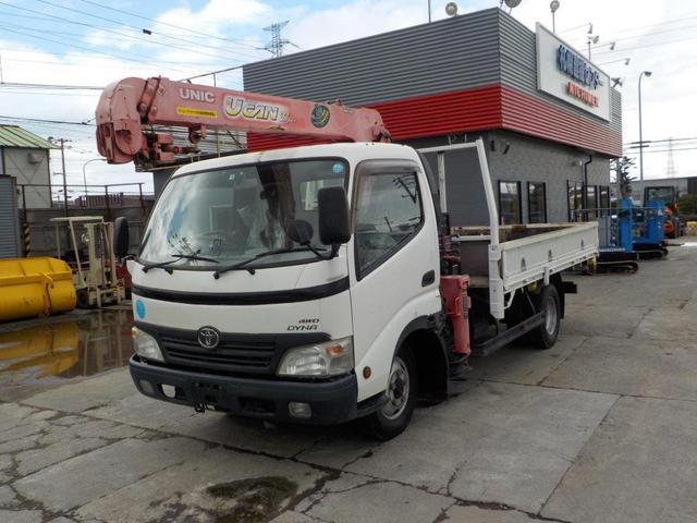 トヨタ ダイナトラック 3トン3段クレーン ワイドロング ラジコン付 4WD