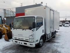 エルフトラック3トンアルミバン ハイブリッド MTモード付AT