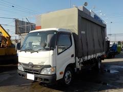 ダイナトラック2トン平ロング 幌付 4WD