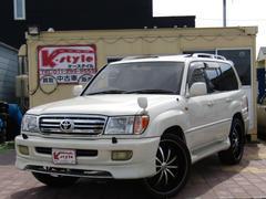 ランドクルーザー100VXリミテッド 4WD 1ナンバー登録 サンルーフ