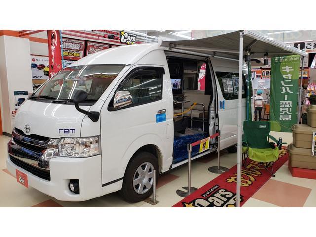 トヨタ キャンパー鹿児島 レム セカンドアクト KULOS 4WD