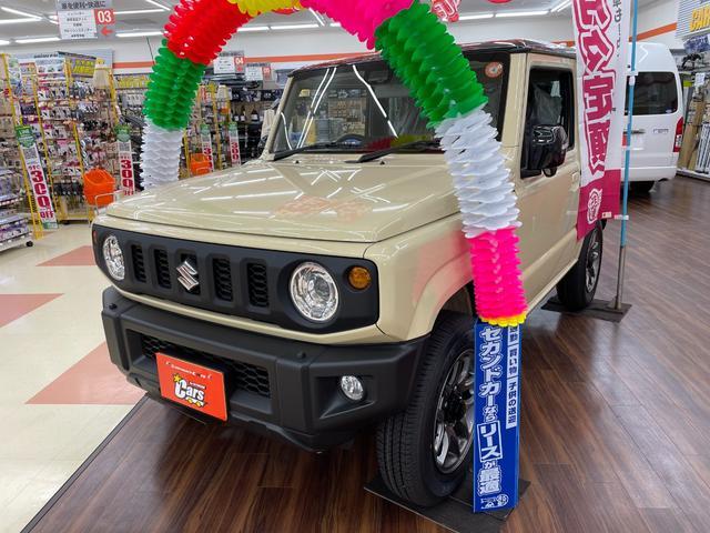 スズキ ジムニー XC 4WD 届出済み未使用車 スズキセーフティサポート 純正16インチAW スマートキー プッシュスタート LEDライト