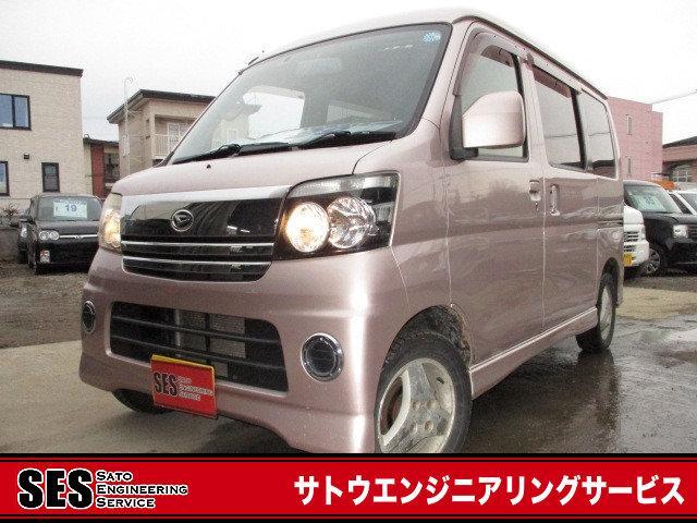 ダイハツ カスタムターボR・ABS・キーレス・Tベル済・検32/4