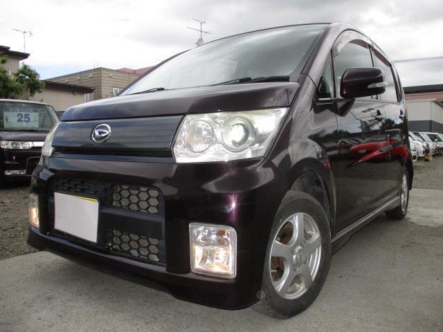 ダイハツ カスタムX・CVT・4WD・スマートキー・R2/10月