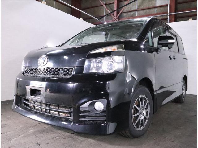 トヨタ ヴォクシー ZS・4WD・左パワスラ・ナビ・HID・Bカ...