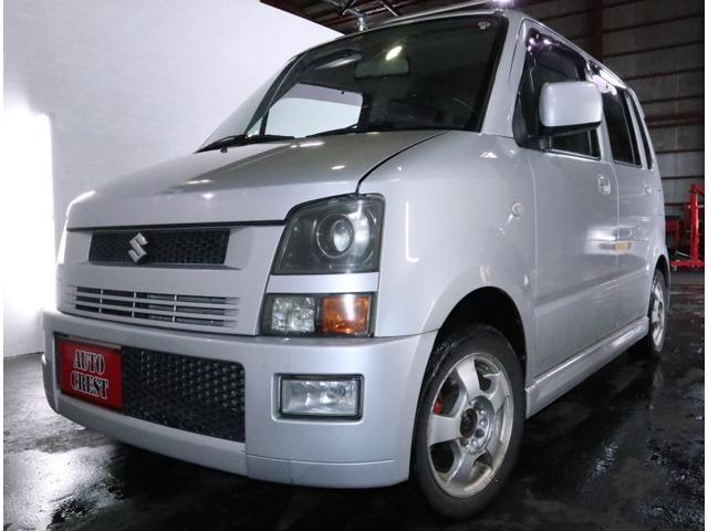 スズキ ワゴンR RR-DI 4WD HID・ターボ・エンスタ・R3/6月