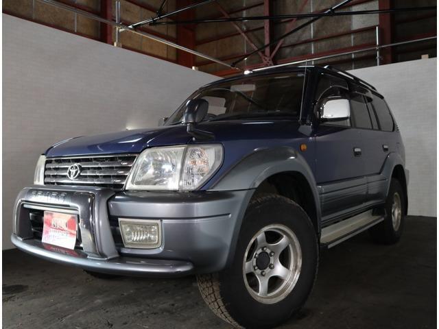 「トヨタ」「ランドクルーザープラド」「SUV・クロカン」「北海道」「AUTO CREST/オートクレスト」の中古車