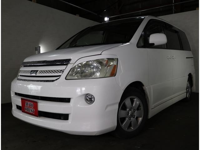 「トヨタ」「ノア」「ミニバン・ワンボックス」「北海道」「AUTO CREST/オートクレスト」の中古車