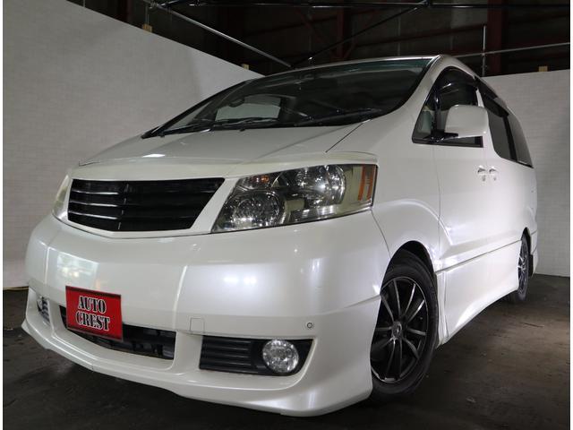 トヨタ アルファードG AS プレミアム アルカンターラバージョン 4WD ナビ