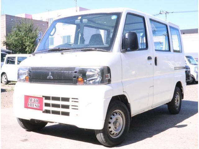 三菱 ミニキャブバン CS 5MT・切替式4WD・修復無し・3.2万k