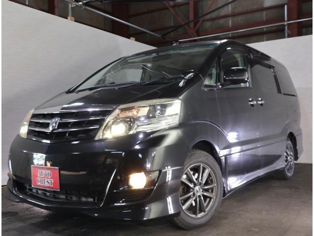 トヨタ アルファードV AS プラチナセレクション 4WD キーレス・両パワスラ・ナビ・電動Rゲート
