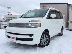 ヴォクシーX 4WD 寒冷地 リアヒーター 純正HDDナビ キーレス
