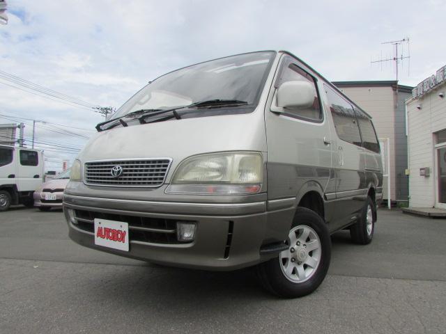 トヨタ スーパーカスタムリミテッド 4WD 軽油 サンルーフ
