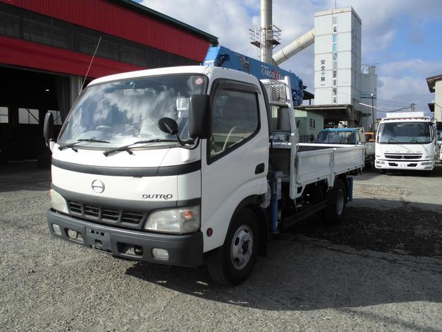 日野 2t ロング タダノ4段 ラジコン フックイン付 H071