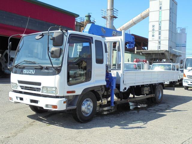 いすゞ 4トン 標準ロング タダノ4段ラジコン付き
