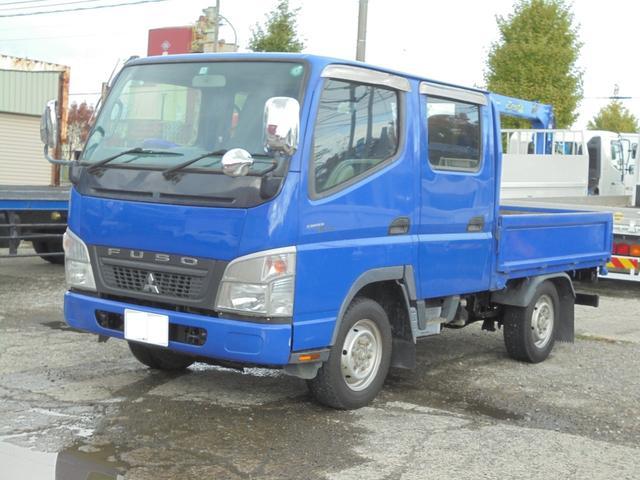 三菱ふそう キャンターガッツ  1.2トン 4WD Wキャブ平ボディ F171