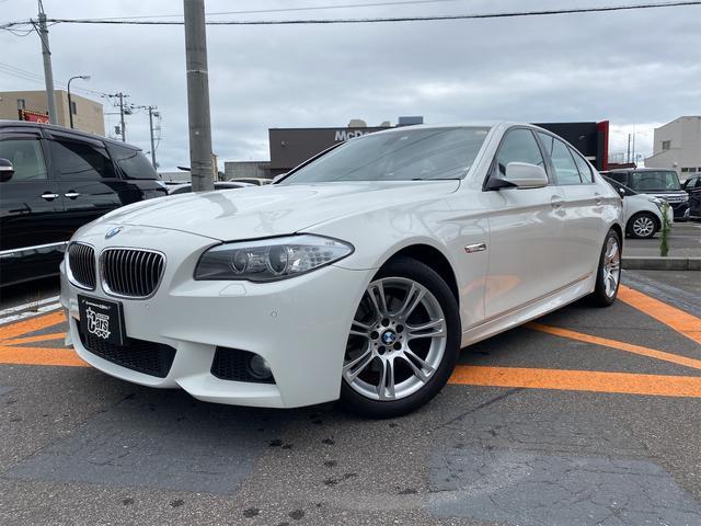 BMW 528i Mスポーツパッケージ 右ハンドル 4ドア 8FAT 2WD