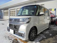タントカスタムX トップエディションSAIII 4WD 純正ナビ