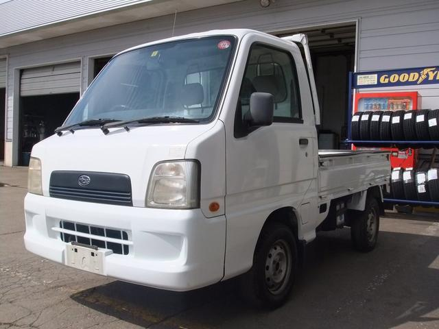 スバル サンバートラック JA 4WDマニュアル