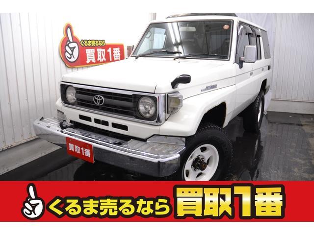 トヨタ LX 4WD SR 社外ナビ 冬タイヤ有 タイベル交換済