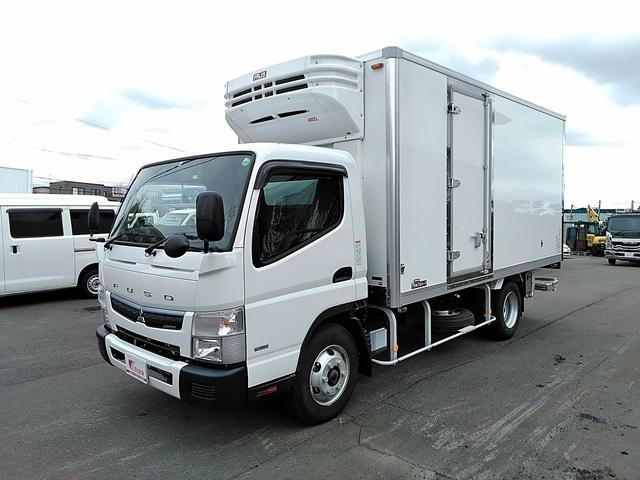 三菱ふそう 低温冷凍車 格納パワーゲート 積載3トン ワイドロング