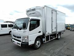 キャンター低温冷凍車 格納パワーゲート 積載3トン ワイドロング