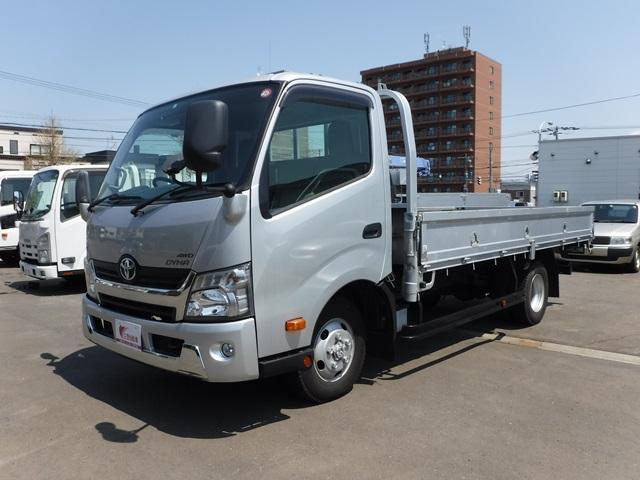 トヨタ 平ボディ 4WD ワイドロング 積載3トン