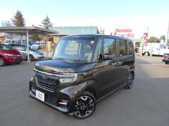 N BOXカスタムG・Lターボホンダセンシング 4WD ナビ