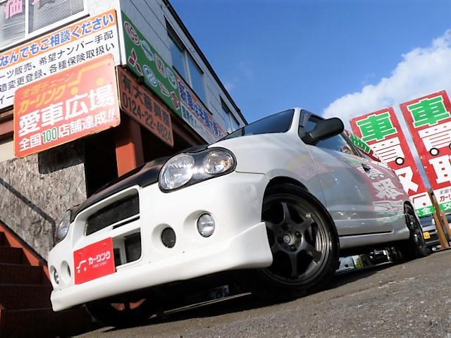 スズキ RS/Zターボ5速マニュアル ローダウン
