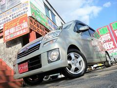 ステラカスタムR 4WD スタッドレスアルミ付 一年走行無制限保証