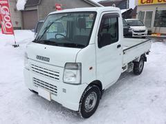 キャリイトラックKC 4WD エアコン パワステ 夏冬タイヤ