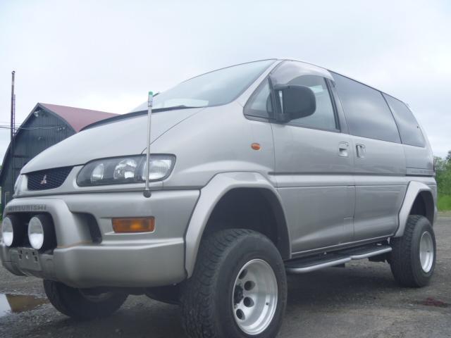 三菱 エクシード ツインサンルーフ 4WD