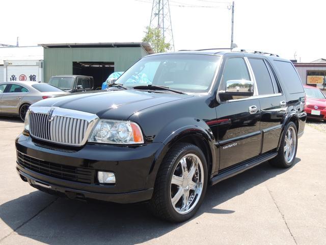 リンカーン ベースグレード 2005モデル サンルーフ 社外22アルミ
