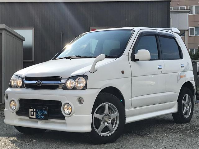 ダイハツ キスマークL・4WD・ターボ・エンスタ・ETC・キーレス