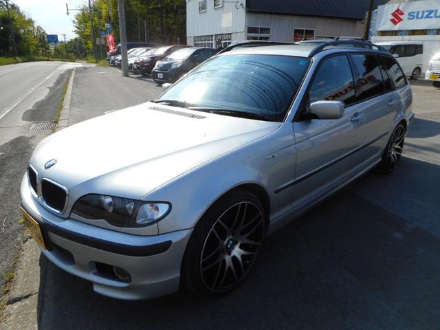 BMW 318iツーリング Mスポーツ/19インチホイル