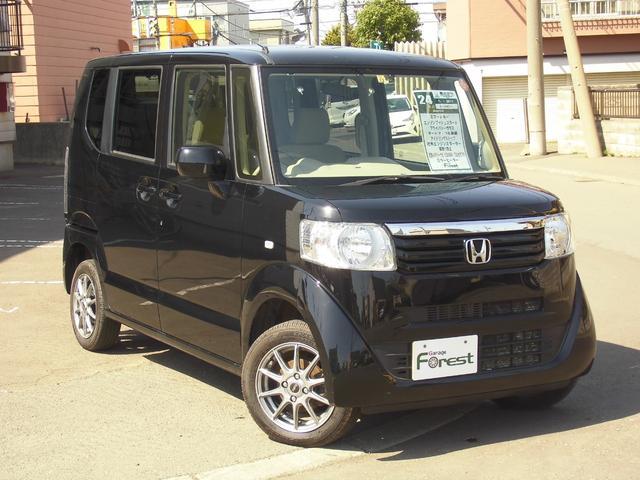 ホンダ N-BOX G 4WD エンスタ ミラーヒーター 社外メモリーナビ TV