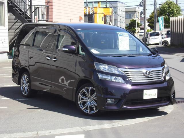 トヨタ 2.4Z プラチナムセレクション 社外19インチアルミ