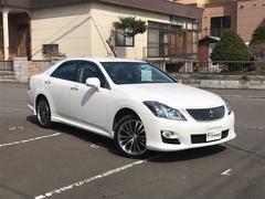 クラウン2.5アスリートi−Four ナビPKG 本革シート 4WD
