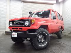 ランドクルーザー70トゥループキャリア 4WD NOX適合全国登録可能