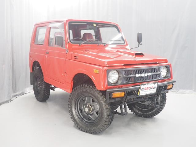 スズキ ジムニー サマーウインド リミテッド 4WD サマーウインド 全塗装 リフトアップ公認 5速マニュアル クリーピーMTタイヤ