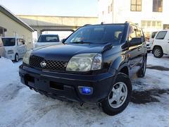 エクストレイルX 4WD 保証付 エンジンスターター キーレス CD MD