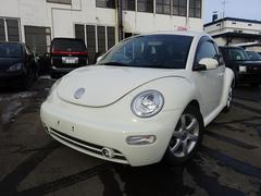 VW ニュービートルベースグレード 保証付 ETC 純正AW HID キーレス