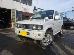パジェロミニリンクスVリミテッド 4WD 事故歴無 保証付 ターボ