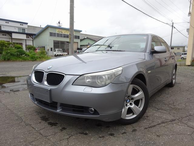 BMW 5シリーズ 530i 事故歴無 保証付 ナビ 革シート パワーシート HID 車検整備付 24か月点検記録簿付