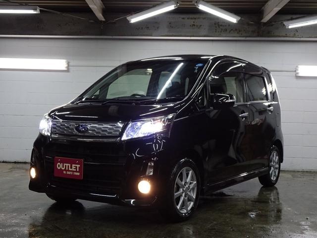 スバル カスタムR 4WD エコアイドル/本州仕入/1年保証