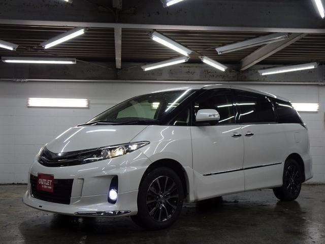 トヨタ アエラス 4WD モデリスタ仕様/ツインモニター/本州仕入