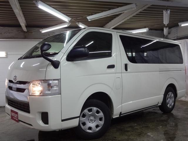 トヨタ DX GLパッケージ 4WD トヨタセーフティセンス/寒冷地仕様/9人乗り/リアヒーター/社外SDナビ/バックカメラ