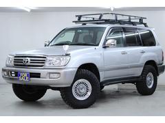 ランドクルーザー100VX 4WD 新品ルーフバスケット 新品タイヤ 新品ホイール