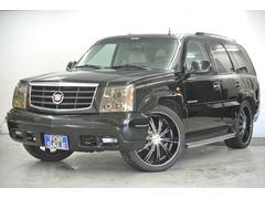 キャデラック エスカレード4WD 本革 サンルーフ HID 社外24インチ 新春価格