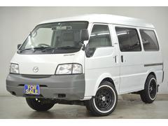 ボンゴバン【高画質動画】4WD ハイルーフ 新品リボンタイヤ×ホイール